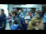 Мужская биатлонная сборная Швеции прибыла в Сочи. PART. 1